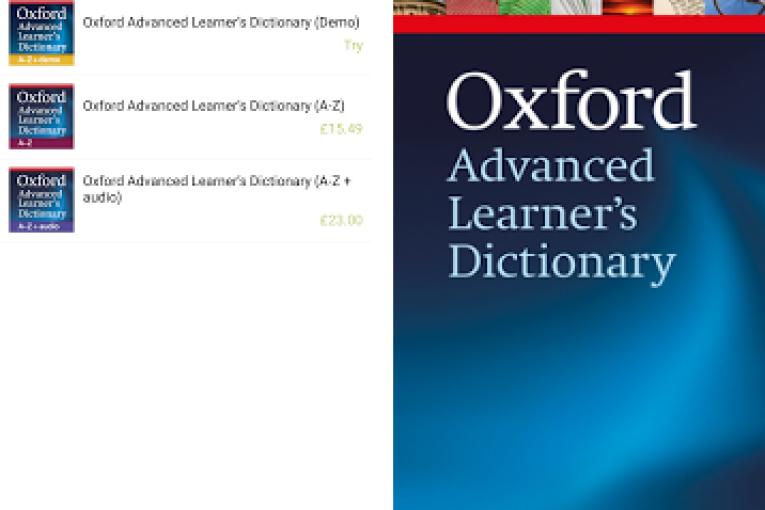 النسخة الحديثة والأصلية والكاملة من أفضل قاموس للأندرويد للمتخصصين في اللغة الإنجليزية OALD: Oxford Advanced Learner's Dictionary: 9th Edition