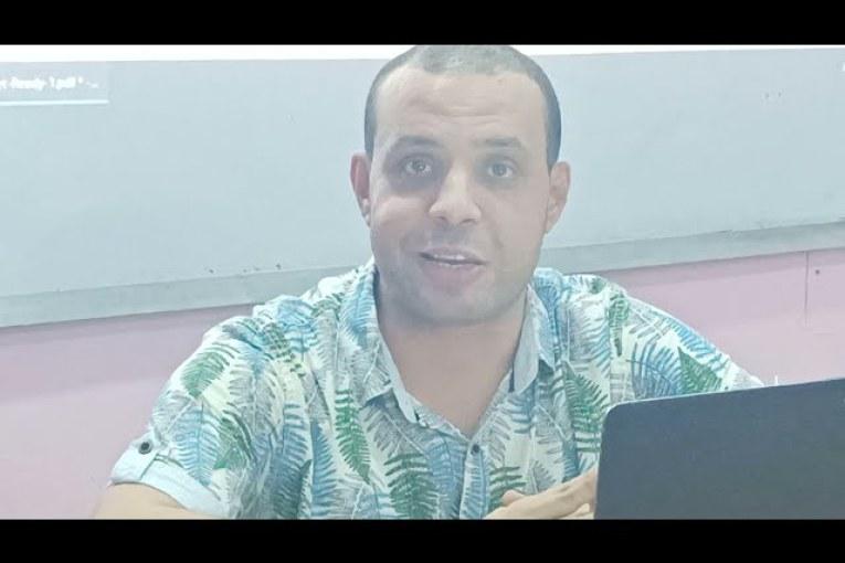 الحصة الأولى في شرح منهج اللغة الإنجليزية 2022 للصف الثالث الثانوي – مستر أحمد سامي.